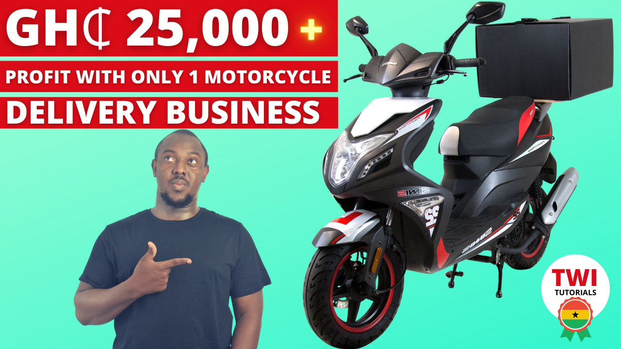 Motor Cycle Delivery Business in Ghana